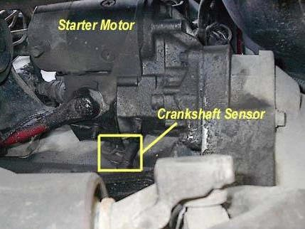 Crankshaft Position Sensor Replacement