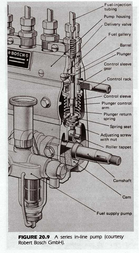 Bosch Sel Injection Pump Diagram Bosch Free Engine Image