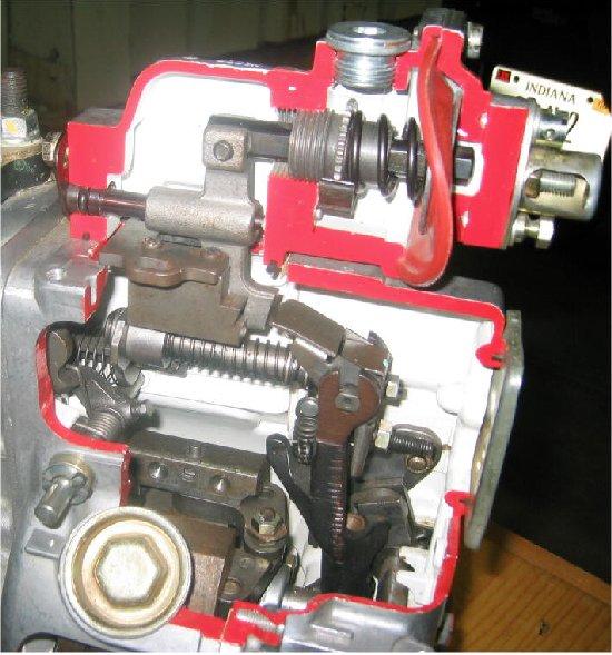P7100 Pump Cutaway Photos Diesel Bombers