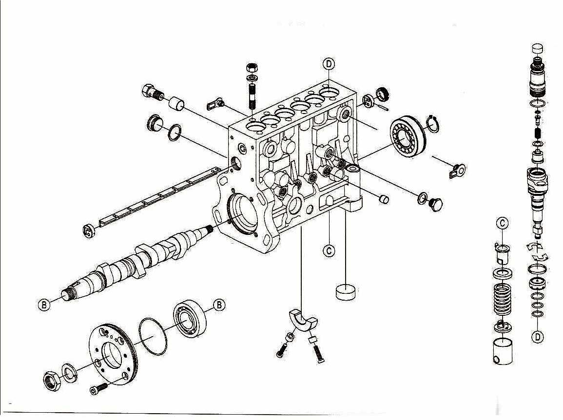 Bosch P7100 Fuel Pump Diagrams